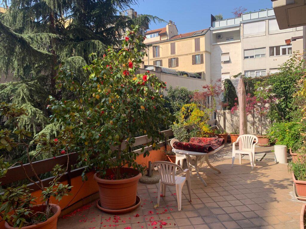 Appartamento con incantevole terrazzo
