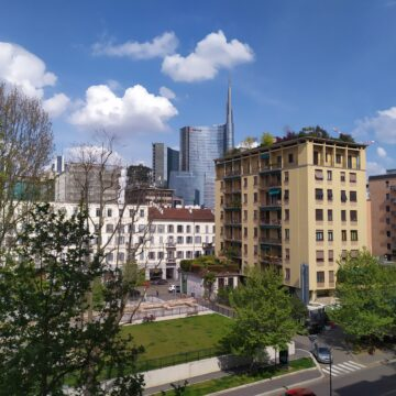 Ampio due locali con vista Skyline